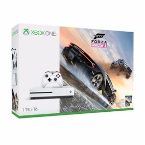 Xbox One S 1tb Sem Forza Lacrado Com Nota Fiscal