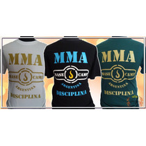 Remera Mma Base Camp Argentina - Disciplina
