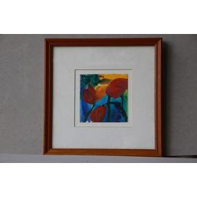 Milchu - Cuadro Tulipanes Obra De Patricia Van Dalen (62)