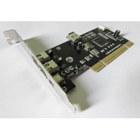 Placa Pci Firewire Chipset Texas P/ Profire Digi Edicao Som