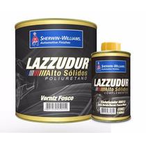 Verniz Fosco Automotivo Lazzuril Alto Solidos Lazzudur