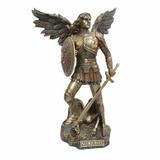 Estátua Arcanjo São Miguel 23cm Ct 60384