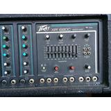 Potencia Peavey Xr 680c + Parlantes Sp5