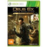 Jogo Deus Ex Human Revolution Directors Cut Para Xbox 360