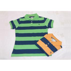 Camiseta Tipo Polo Para Niño Marca Moose Talla 10