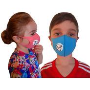 Máscara Infantil Reutilizável N95 Proteção Crianças Vírus