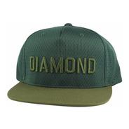 Bone Diamond Supply Jackson Snapback Verde Original P,entreg