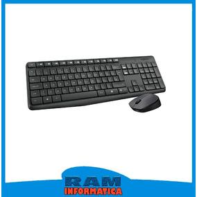 Teclado + Mouse Logitech Mk235 Ws