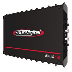 Novo Modulo Amplificador Sd800.4 Linha 2018 800w Rms