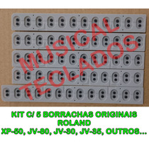 Borracha Cinza Roland Xp-50 Kit C/ 5 Novas - Promoção