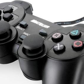Controle Joystick Dual Shock Ps2 / Pc Multilaser