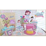 40 Caixas Lembrancinha P/festa Alice No Pais Maravilha (009)