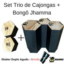 Trio De Congas + Bongô Jhamma + Brindes Promoção