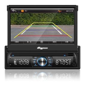 Dvd Player Autom Quatro Rodas 7 Touch Câm Ré Bt Usb Mtc6618