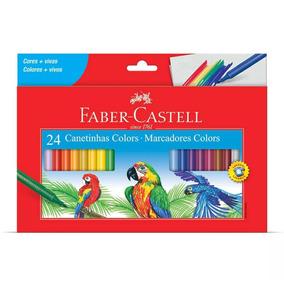 Canetinha Faber Castell 24 Cores A Pronta Entrega