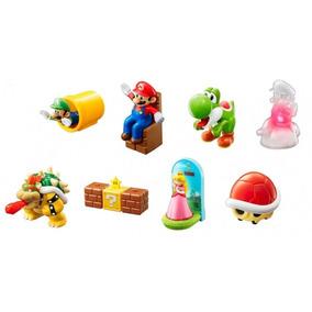 Coleção Personagens Super Mario Bros Mc Donalds 2017 Lacrada