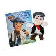 Colección Marionetas La Granja De Zenon  1 Marioneta + Libro