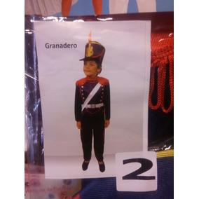 Hermoso Disfraz Granadero Solo Talle4!!! Disfraz Patrio