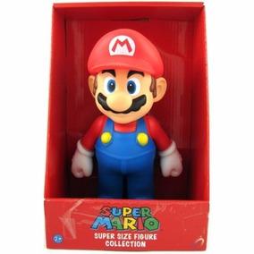 Super Mario Boneco Com Caixa Original Grande 64 Bros 20cm