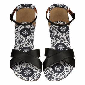 Rasteira Barth Shoes Rúpia Estampa Henna