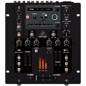 Nox202 Mixer Profissional P/ Dj Behringer 2 Canais Nox 202
