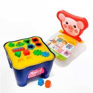 Cadeirinha Mesa Didática C/ Atividades - Bichos - Samba Toys