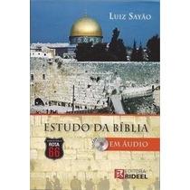 Livro Estudo Da Bíblia Em Áudio Com Cd