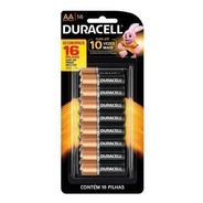 Pilhas Duracell Alcalina Aa Pequena Mn1500b16 Cartela C/16
