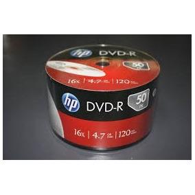 Dvd Hp Torre C/ 50 Dvd 16x 4.7 Gb 120 Min