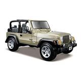 Maisto Escala 127 Jeep Wrangler Rubicon Fundió El Vehículo