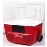 Cooler Nevera Con Parlantes, Bluetooth, Usb/mp3 Recargable