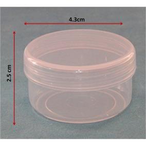 Tarrito, Envase, Frasco O Pomaderos De Plástico 25 Gramos