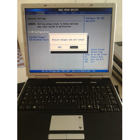Notebook Itautec Infoway Note 7510 -1gb Ram - No Estado