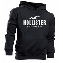 Blusa Moletom Hollister California Canguru Casaco De Frio