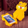 Forro Para Iphone 6 Y 6s 3d Garfield Cover Goma