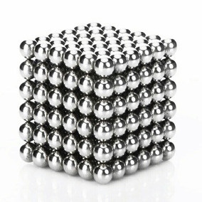 Neocube Cubo 3mm Magnético 216 Esferas Balls Imã Neodímio 3m
