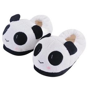 Pantuflas Panda Envío Gratis Kawaii Mujer Dama Niños