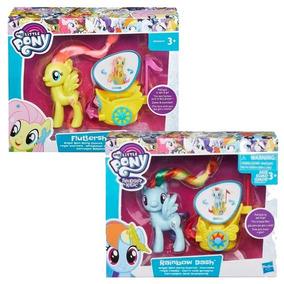 My Little Pony - Carro Real Giratorio - Fluttershy + Rainbow