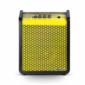 Caixa Amplificada Multiuso 100w Rms Frahm Chroma Yellow
