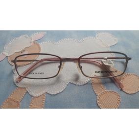 Armação Oculos Grau Feminino Emporio Armani Original