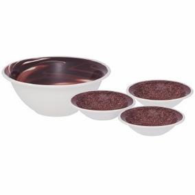 Conjunto De Sobremesa Cerâmica 7 Peças Brigadeiro Oxford
