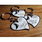 Lembrancinha Personalizada - Chaveiro Resinado Coração