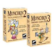 Munchkin 2 + Munchkin 3 Expansion Combo Mesa Scarlet Bureau