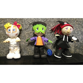 Muñecos En Goma Eva Hallowen