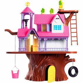 Casa Na Árvore Completa + 4 Bonecos Homeplay 3901 Promoção