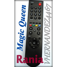 Control Remoto Tv Rania Tcl Magic Queen Lcd Led - Oferta.!!!
