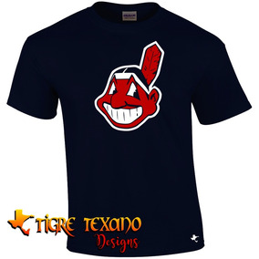 Playera Mlb Indios Cleveland Mod E By Tigre Texano Designs