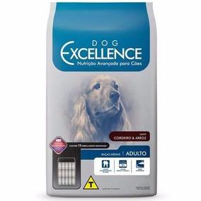 Ração Dog Excellence Cães Adultos Rç Méd Cordeiro Arroz 15kg