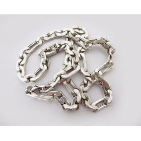 Cordão Masculino De Prata 950 Com 60 Cm 92 Gramas