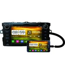 Gps Corolla 2009 /2014 Android 4,4 Tela 8 Winca S160 Multimi